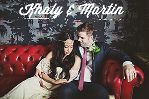 Creative, alternative, honest Wedding Photography - bride and groom sat cuddling on sofa