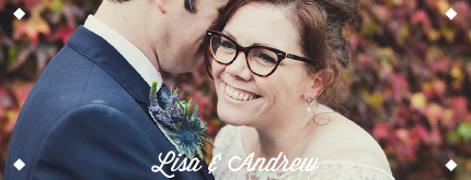 Wedding photo testimonial