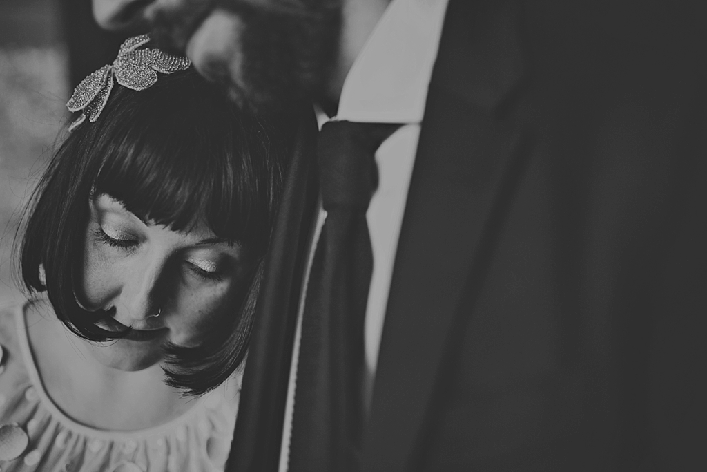 Alternative wedding portrait photography Lisa Jane Photography