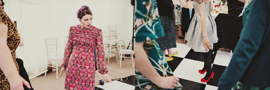Fun creative Derby wedding