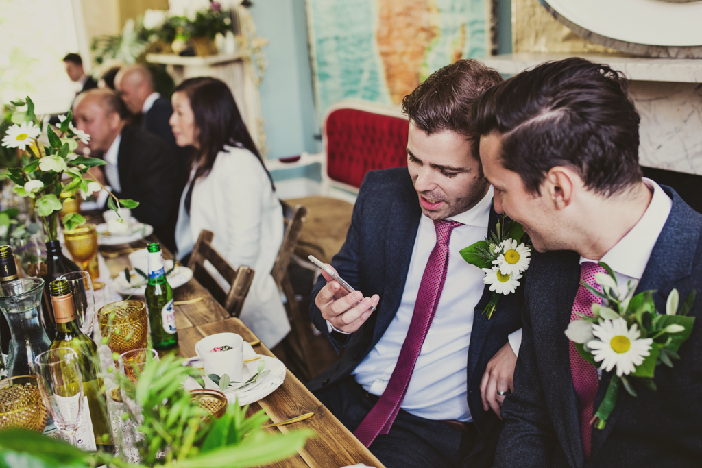best man speech at The Roost in Hackney by Lisa Jane Photography