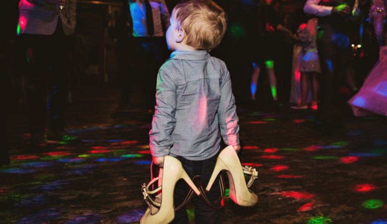 kid on the dance floor