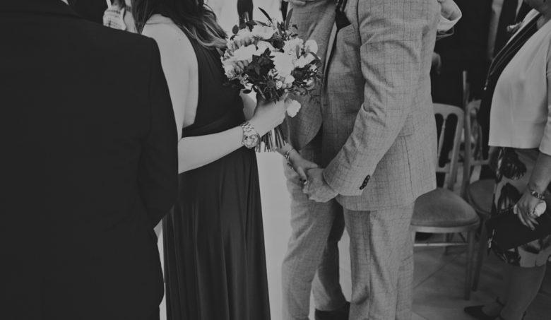 moments at a wedding