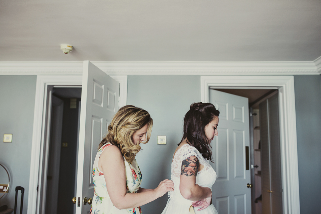Bridal prep pre wedding photography Brighton