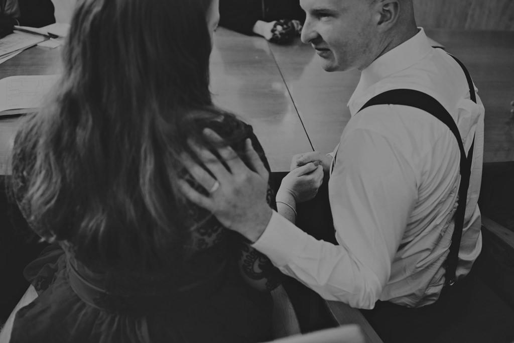 Alternative elopement wedding photography London