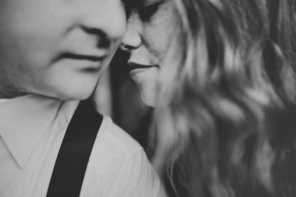 Intimate wedding elopement portrait photography