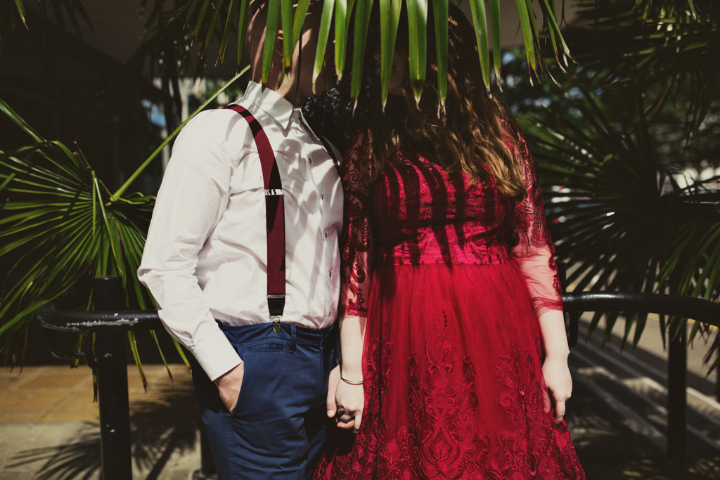 Quirky elopement wedding photography London