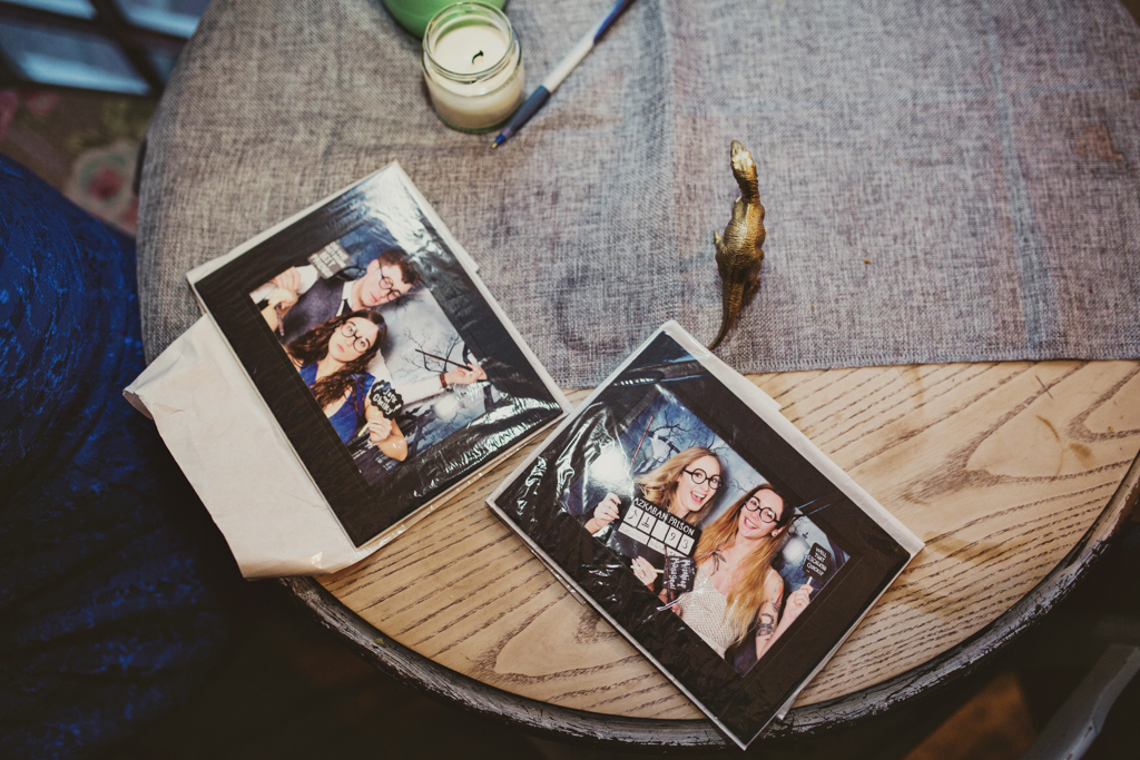 Polaroid wedding photography Brighton