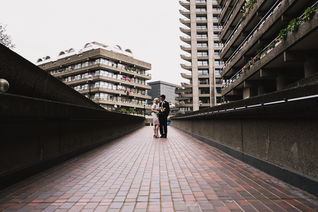 Contemporary Barbican Wedding Photography by Lisa Jane Photography