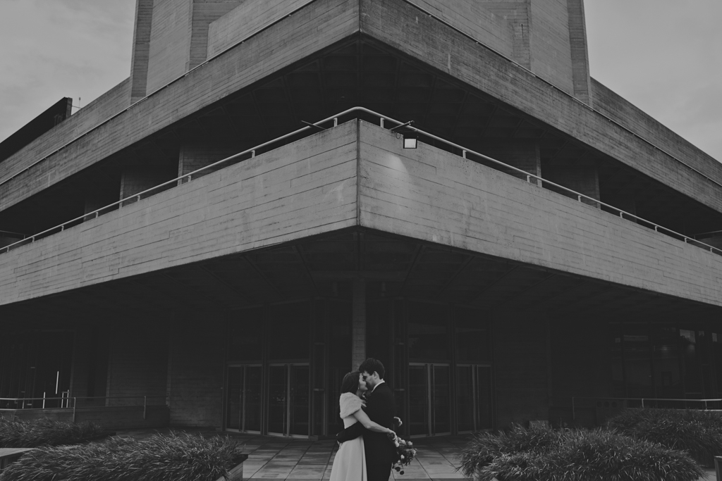 National Theatre wedding photography by Lisa Jane Photography