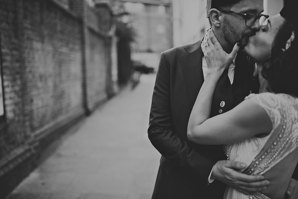 Alternative modern wedding photography by Lisa Jane Photography