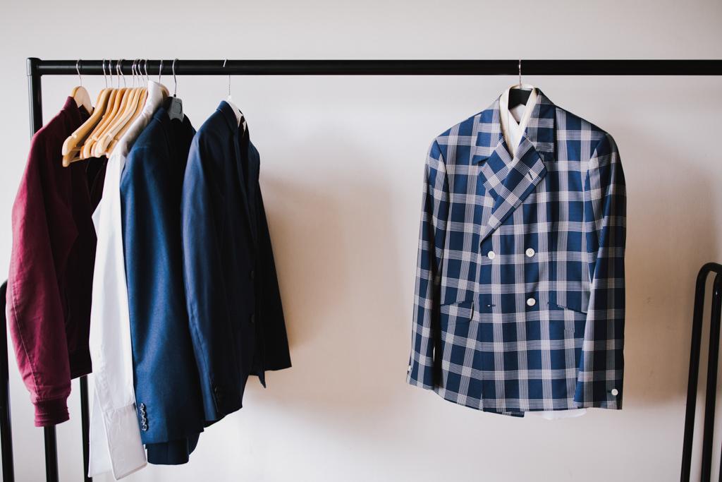 Bespoke Suit at Loft Studios Wedding | Lisa Jane Photography | Creative London Wedding Photography
