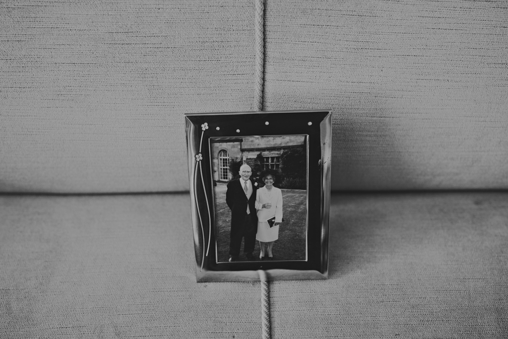 Photo of brides grandparents at a Wiltons Music Hall Wedding | Lisa Jane Photography | Modern London Wedding Photography