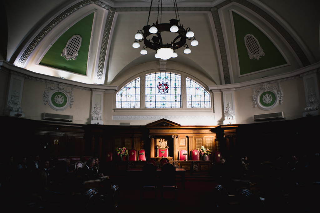 Islington Town Hall Council Chamber Wedding Ceremony | Lisa Jane Photography | Creative London Wedding Photography