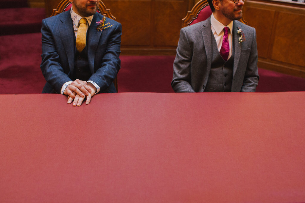 Wedding Ceremony at Wandsworth Town Hall | Lisa Jane Photography