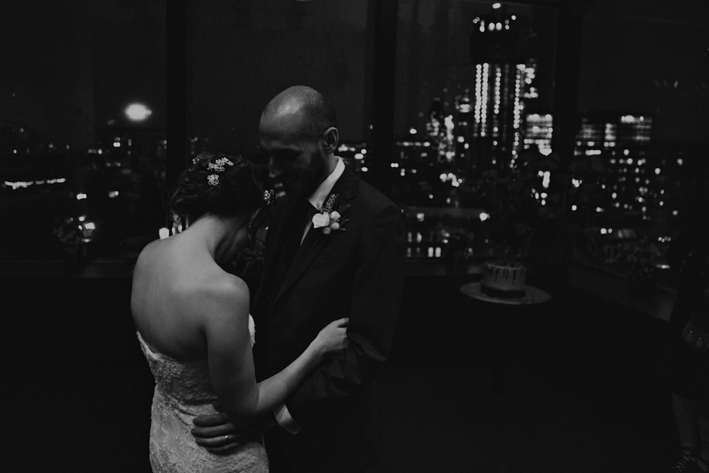 First dance at Ace Hotel Wedding | Lisa Jane Photography | Modern London Wedding Photography