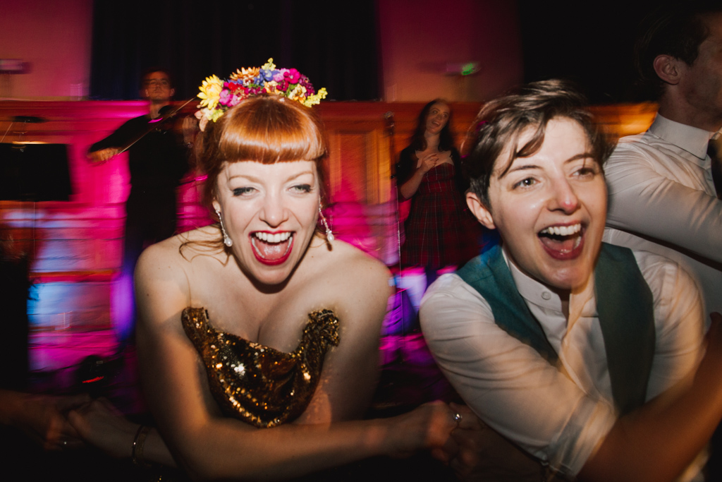 Dancing at Cecil Sharp House | Lisa Jane Photography | Modern London Wedding Photography