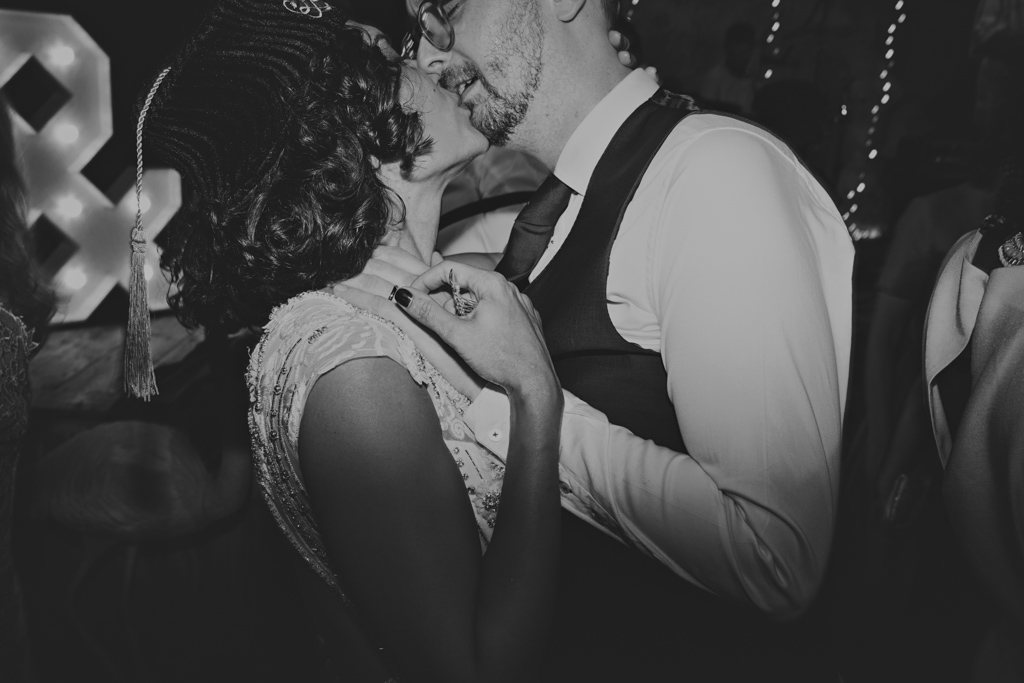 First Dance at Wiltons Music Hall Wedding | Lisa Jane Photography | Creative Modern London Wedding Photography