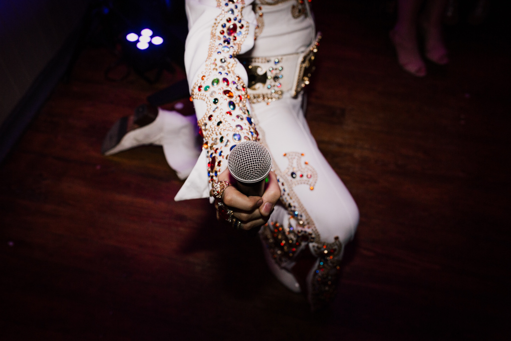 Elvis inpersonator at Brighton Pub Wedding | Lisa Jane Photography | Modern London Wedding Photography