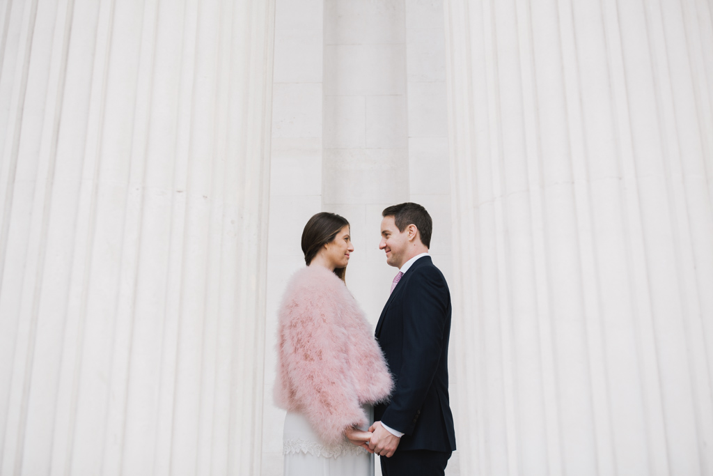 London elopement at Marylebone Town Hall