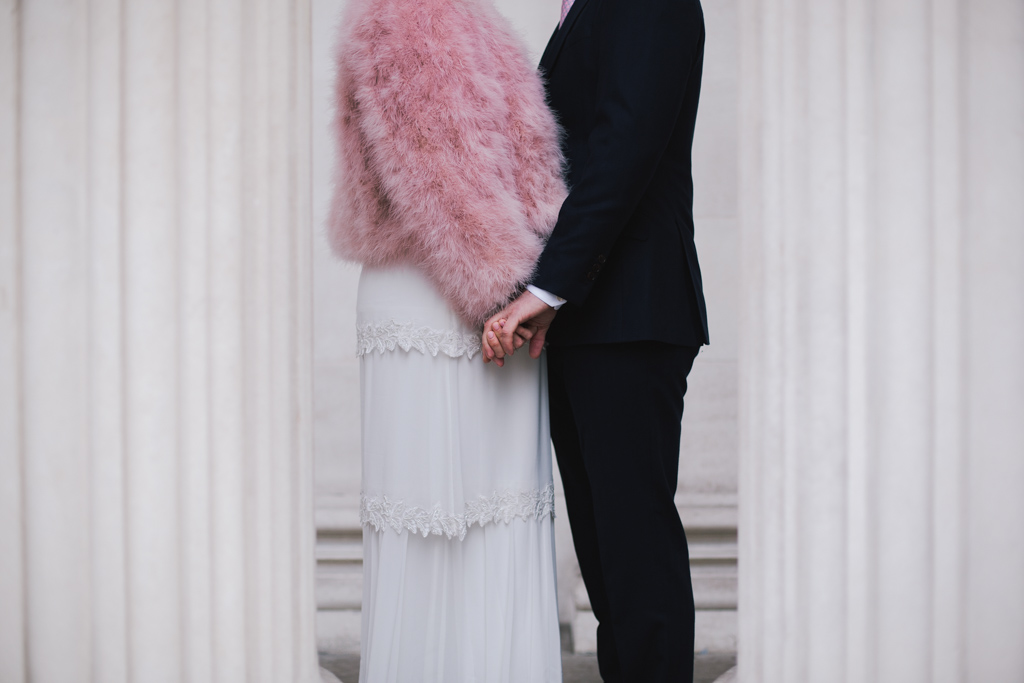 Modern London Wedding Photography by Lisa Jane Photography