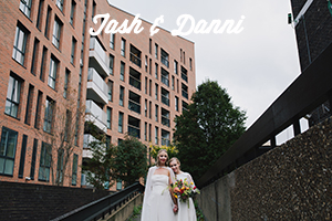 Modern, Creative London Wedding Photography | Shoreditch Tab Centre Wedding
