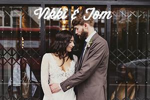 Creative, modern, honest Wedding Photography | Vikki & Tom's MC Motors Wedding