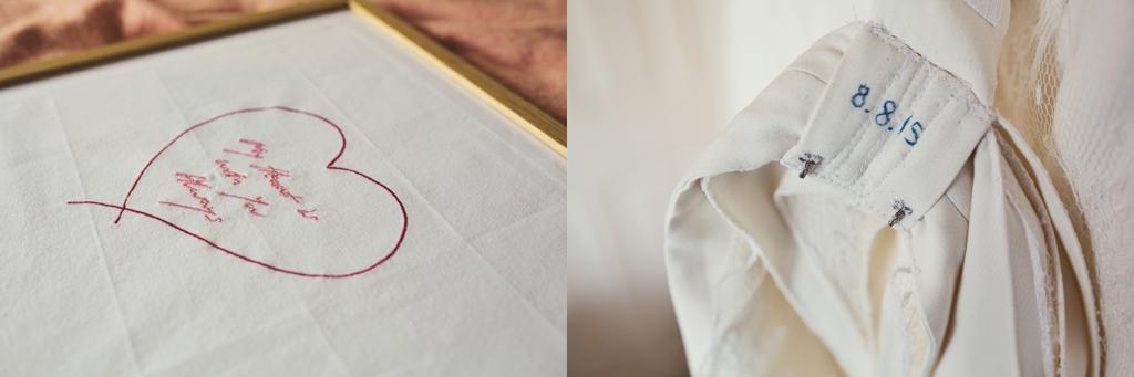 Wedding day gifts Lisa Jane Photography