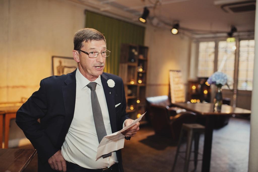 Capturing wedding day speeches London