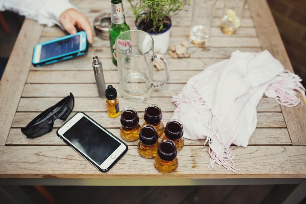 Wedding day table London