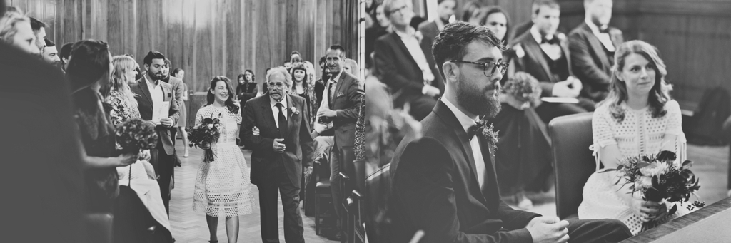 Hackney Town Hall wedding ceremony London Lisa Jane Photography