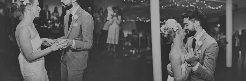 First dance captured moment London wedding