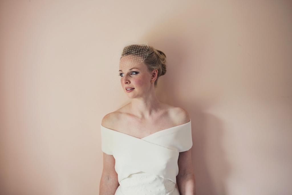 Beautiful London bride