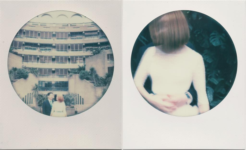 Polaroid wedding photography London