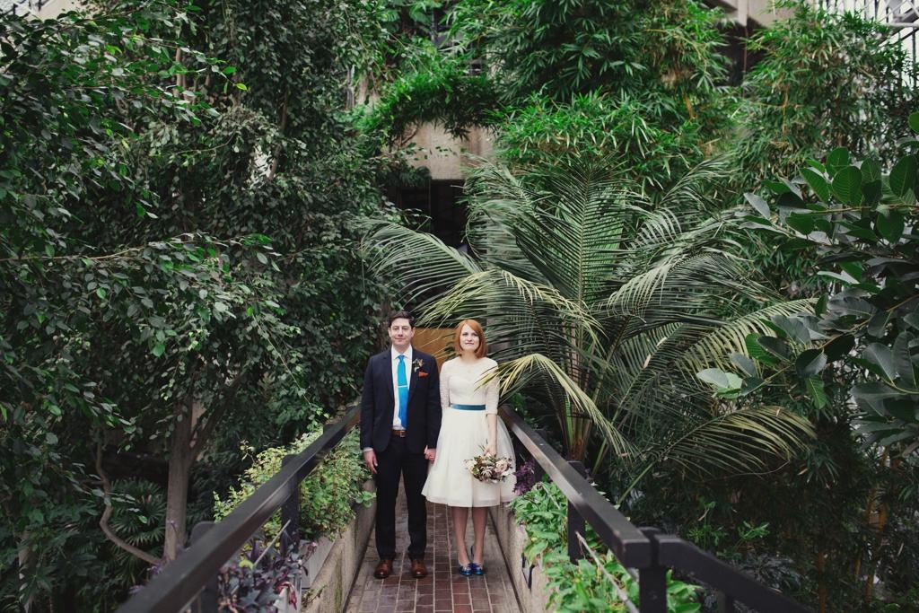 Creative London wedding portrait Lisa Jane Photography