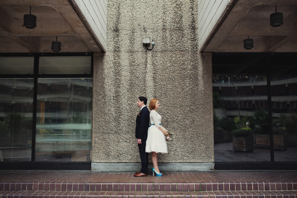 Creative urban wedding photography London