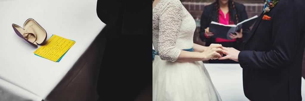 The Barbican London wedding ceremony