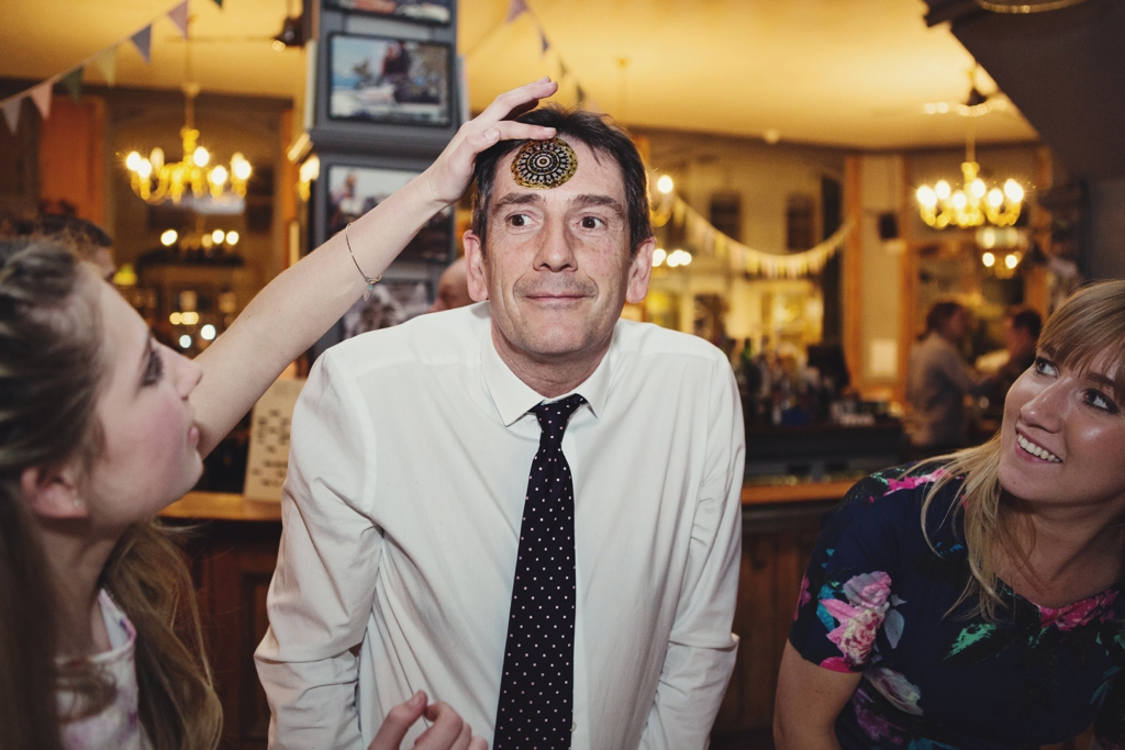 Fun creative pub wedding London