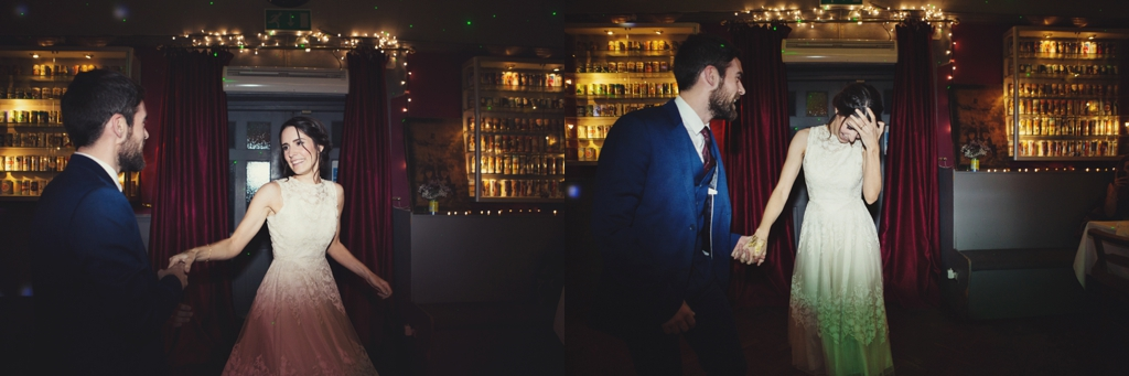 First wedding dance at The Londesborough London pub