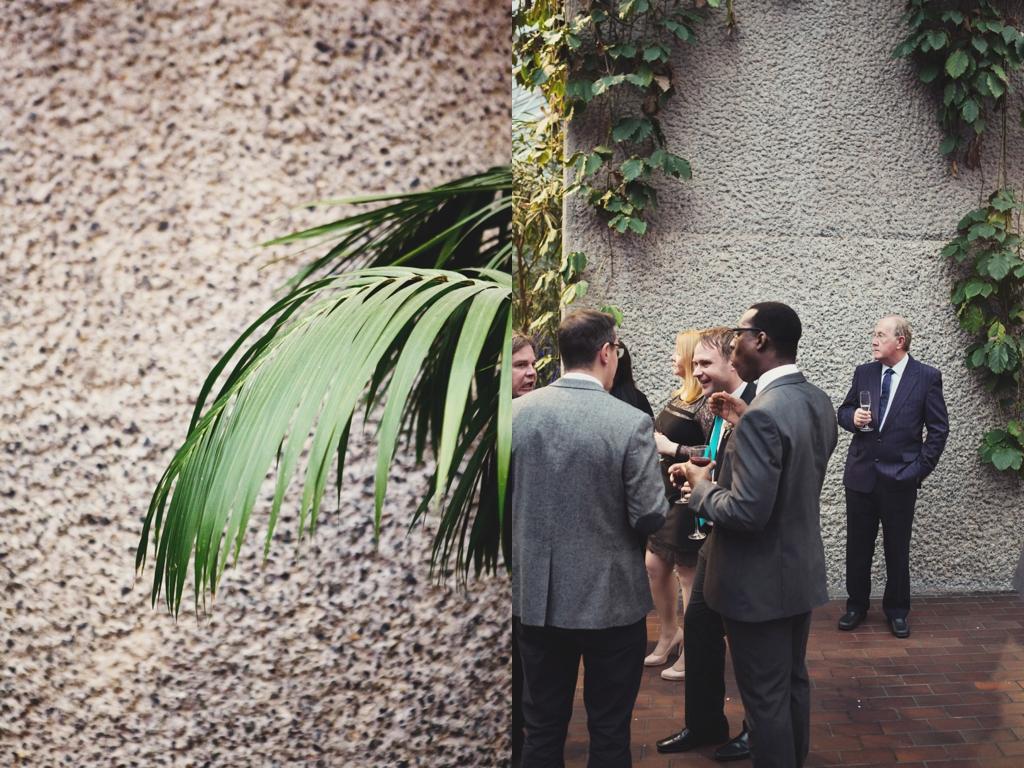 The Barbican London wedding venue