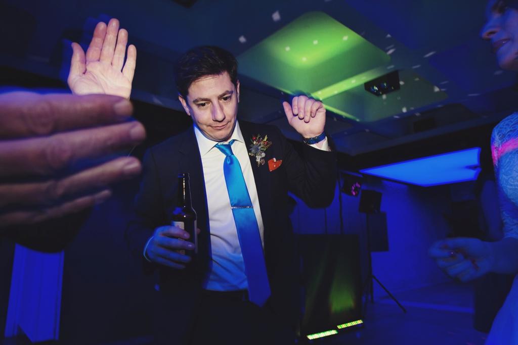 Wedding dance floor fun London
