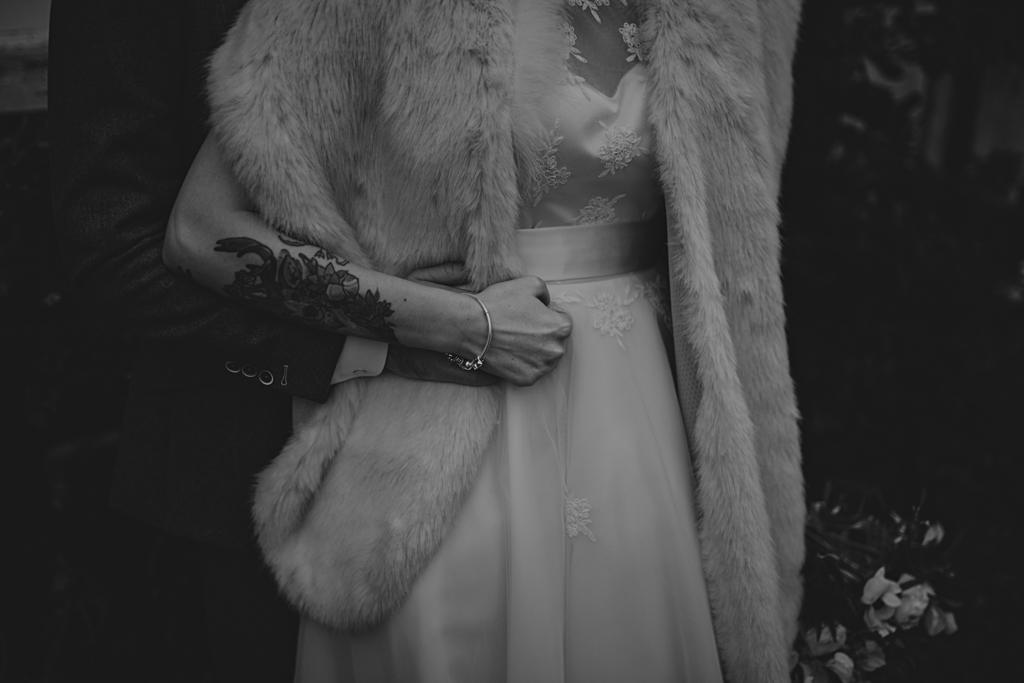 creative wedding portraits by Lisa Jane Photography