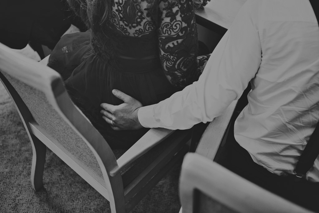 Intimate wedding portrait photography London