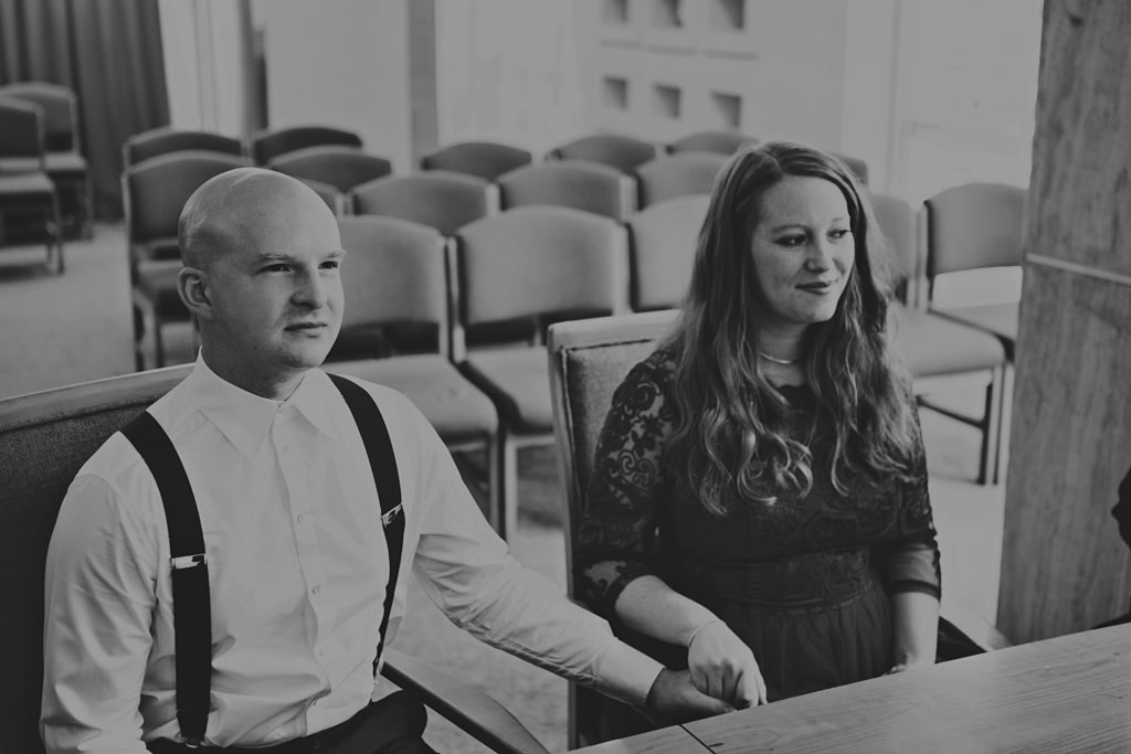 Intimate elopement wedding photography London