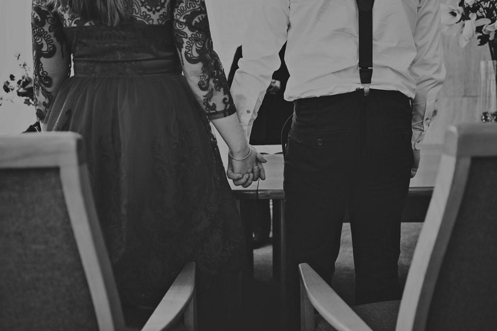 Creative elopement wedding photography London