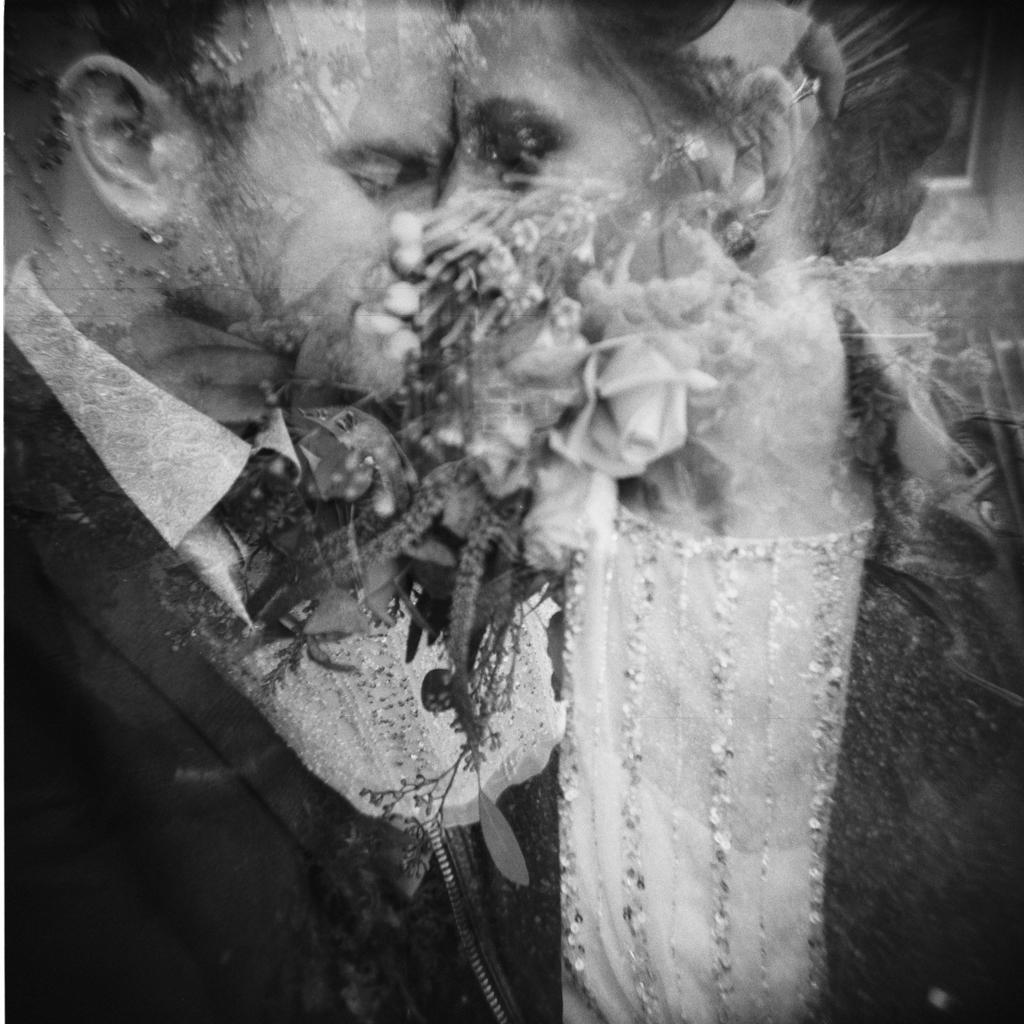 holga wedding portraits