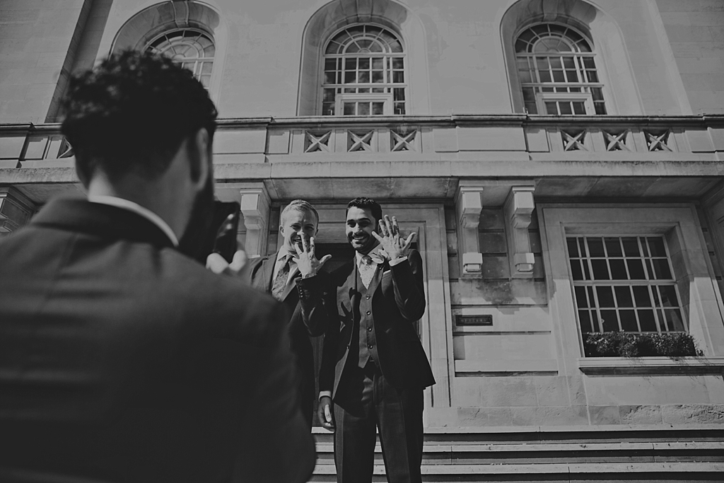 Hackney Town Hall Elopement photography by Lisa Jane Photography