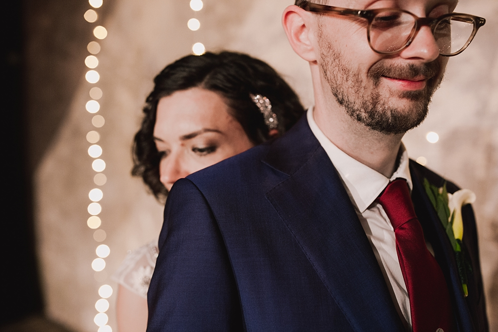 bride and groom portraits   Wiltons Music Hall Wedding Photographer   Lisa Jane Photography