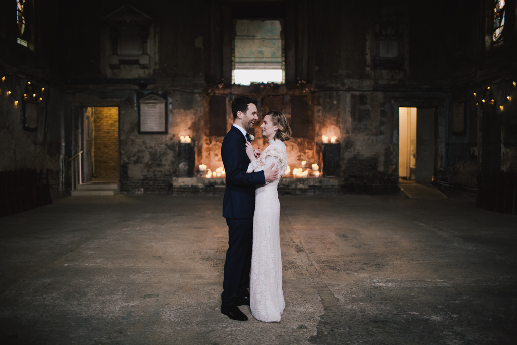 Asylum Chapel Wedding Photography - Modern London Wedding Photography