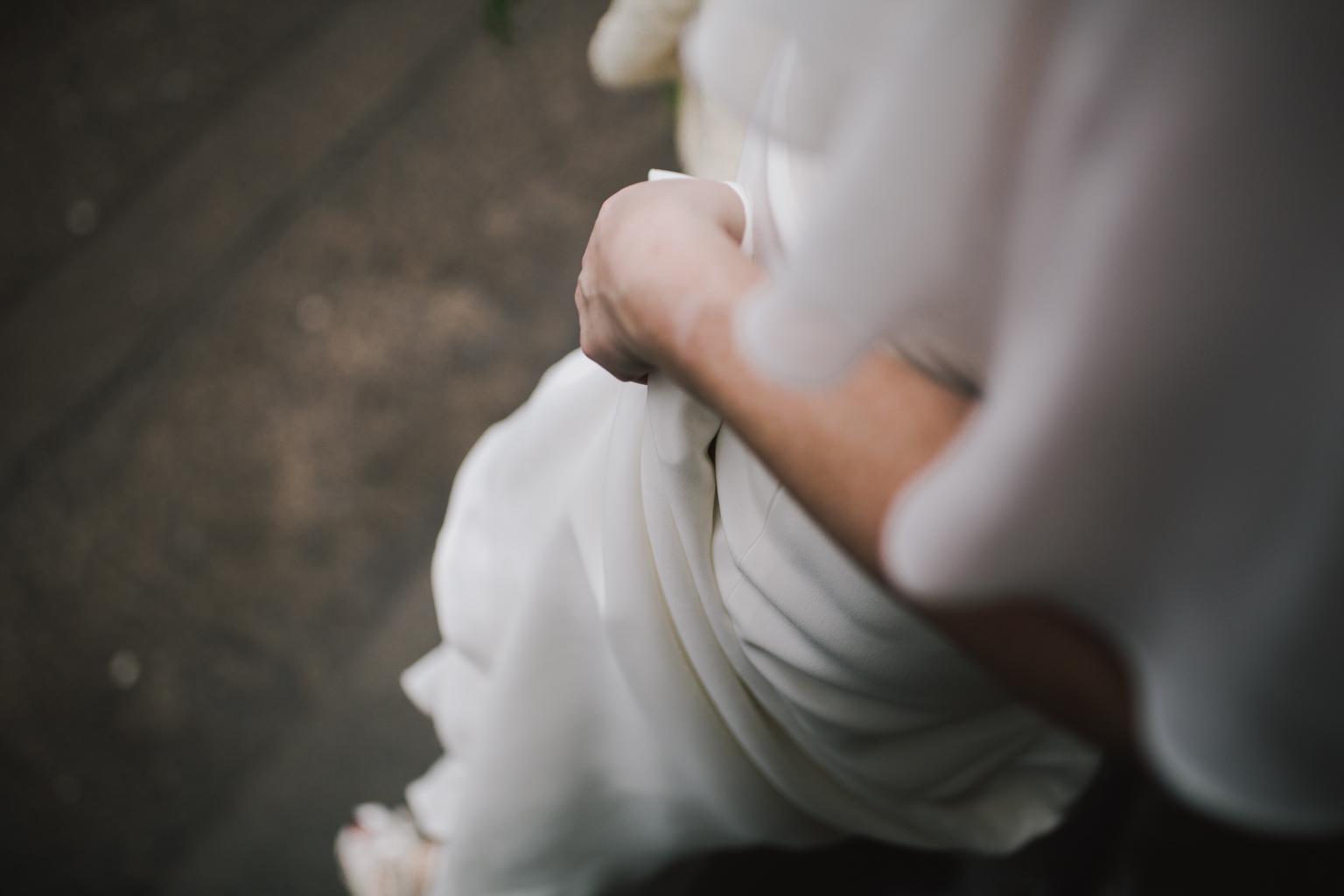 Modern, creative wedding photography at a Glasgow Botanic Gardens Wedding by Lisa Jane Photography